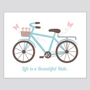 Life is a Beautiful Ride Bicycle Quote Posters