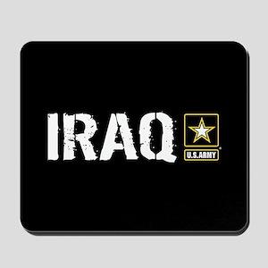 U.S. Army: Iraq (Black) Mousepad