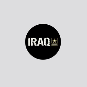 U.S. Army: Iraq (Black) Mini Button