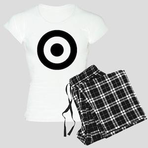 Black Mod Target Women's Light Pajamas
