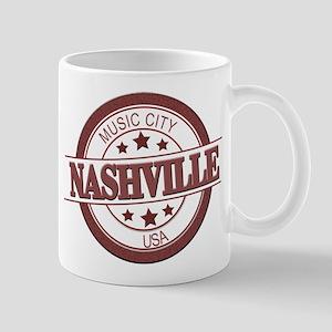 Nashville Music City-CIR Mugs