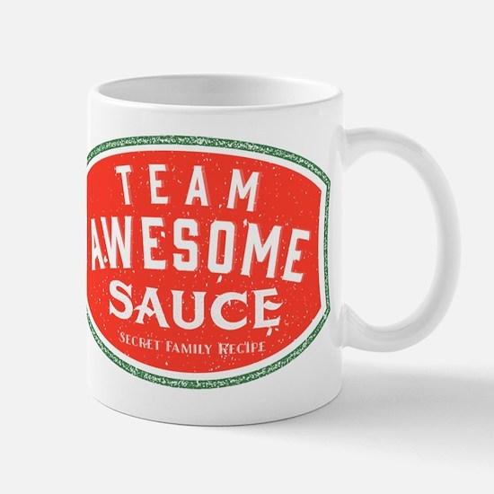 Cute Awesome sauce Mug