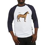 American Quarter Horse (Front) Baseball Jersey