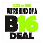 Class of 2016 Square Car Magnet 3