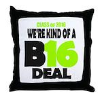 Class of 2016 Throw Pillow