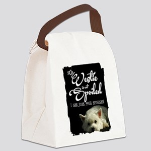 Spoiled? Never! Canvas Lunch Bag