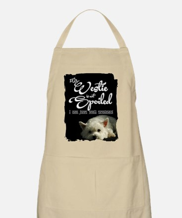 Spoiled? Never! Apron