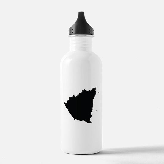 Nicaragua Silhouette Water Bottle