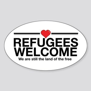 Refugees Welcome Sticker