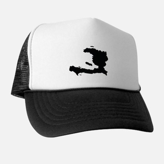 Haiti Silhouette Trucker Hat