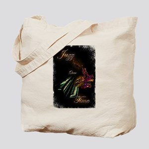 Piano Jazz over Time by Bluesax Tote Bag
