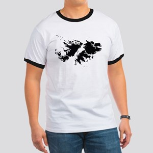 Falkland Islands Silhouette T-Shirt