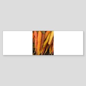 an assortment of long organic carro Bumper Sticker