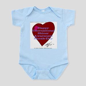 Shiner Awareness Infant Creeper