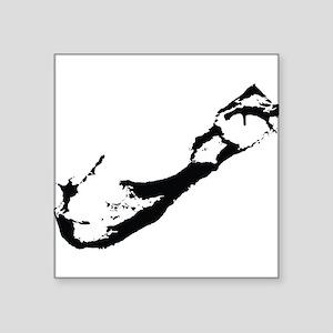 Bermuda Silhouette Sticker
