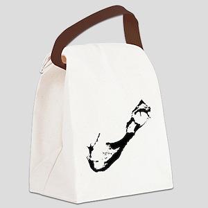 Bermuda Silhouette Canvas Lunch Bag