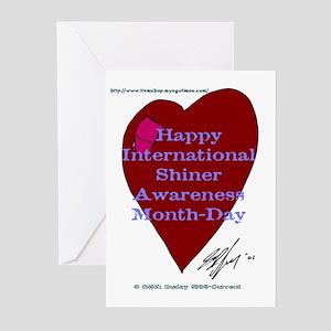 Shiner Awareness Greeting Cards (Pk of 10)