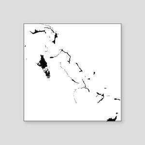 Bahamas Silhouette Sticker