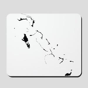 Bahamas Silhouette Mousepad