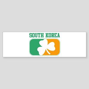 SOUTH KOREA irish Bumper Sticker