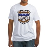 USS FRANCIS HAMMOND Fitted T-Shirt
