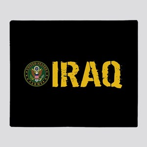 U.S. Army: Iraq Throw Blanket