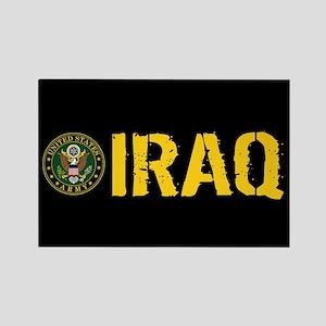 U.S. Army: Iraq Rectangle Magnet