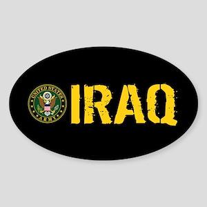 U.S. Army: Iraq Sticker (Oval)