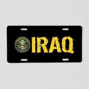 U.S. Army: Iraq Aluminum License Plate
