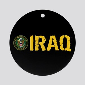 U.S. Army: Iraq Round Ornament