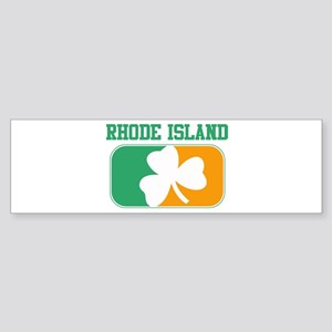 RHODE ISLAND irish Bumper Sticker