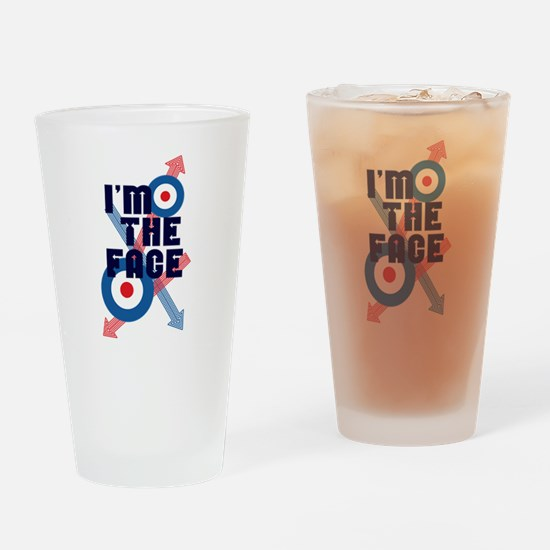 Funny Mod Drinking Glass