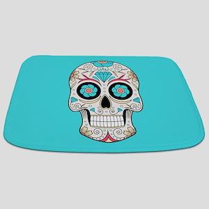 Sugar Skull Bathmat