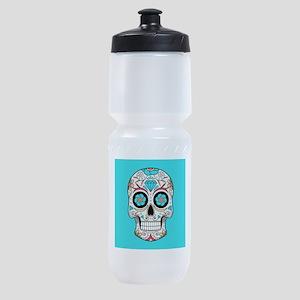 Sugar Skull Sports Bottle