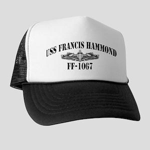 USS FRANCIS HAMMOND Trucker Hat