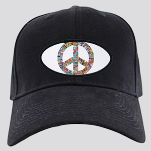 Peace to All Nations Black Cap