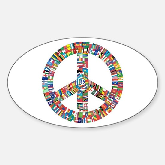 Peace to All Nations Bumper Stickers