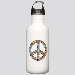 Peace to All Nations Stainless Water Bottle 1.0L