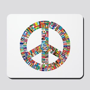 Peace to All Nations Mousepad