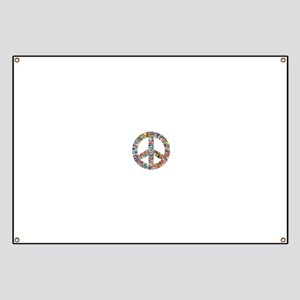 Peace to All Nations Banner