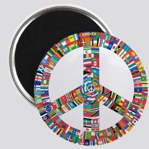 Peace to All Nations Magnets