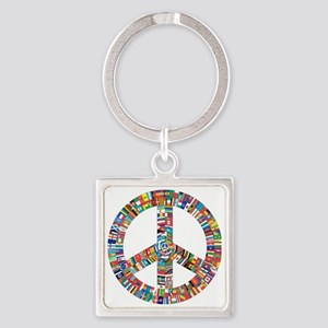 Peace to All Nations Keychains