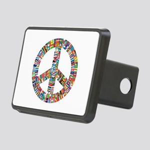 Peace to All Nations Rectangular Hitch Cover