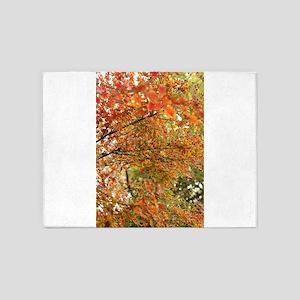 Japanese maple tree 5'x7'Area Rug