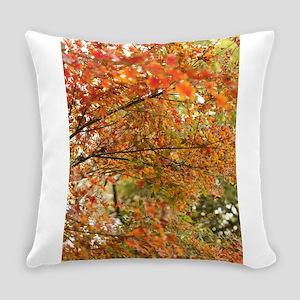 Japanese maple tree Everyday Pillow