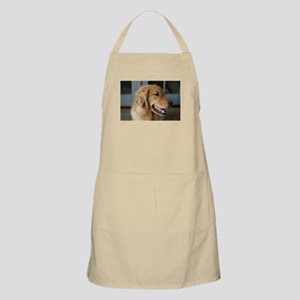 golden retriever happy Apron