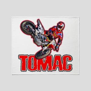Tomac2015 Throw Blanket