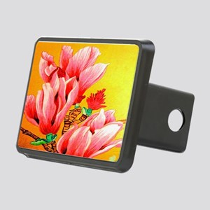 Cactus Flower Floral Rectangular Hitch Cover