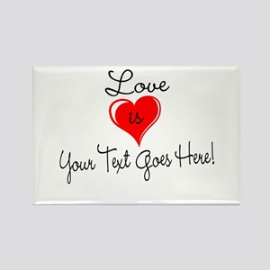Personalized Love is Your Text Magnets