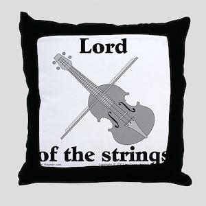 Lord/Violin. Throw Pillow
